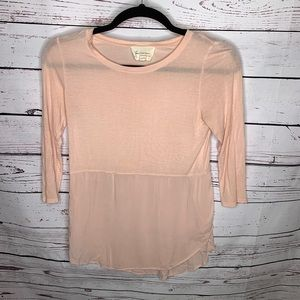 Two Vince Camuto pink tunic